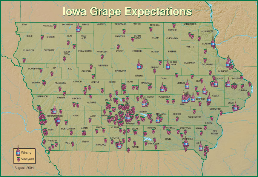 IAvineyardsaug04b New Iowa Law is Problematic for Wine Businesses