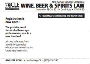 Wine Beer Spirits Law Conference