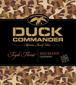 Duck Commander Triple Threat Red Wine Label Approval 266x300 Napa Valley Duckhorn Wine Co. Sues Duck Commander Wine, Alleging Trademark Infringement