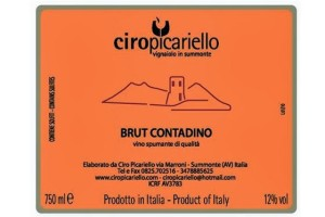 Ciropicariello Brut Orange Label