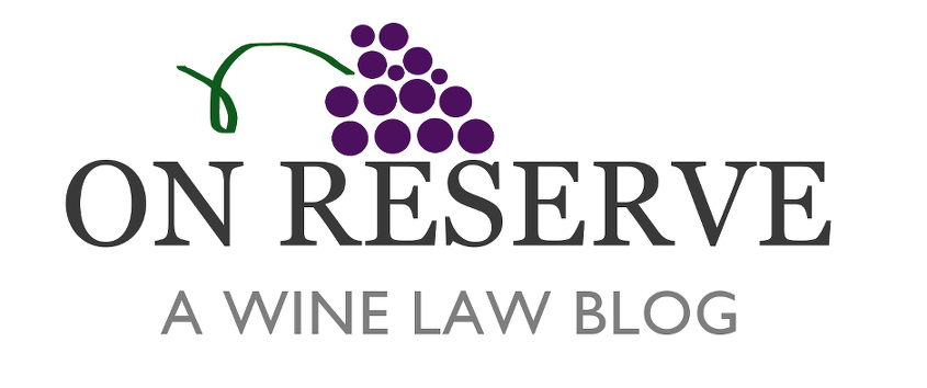 On Reserve: A Wine Law Blog header image