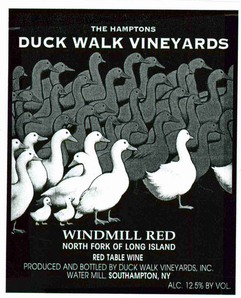 Duck Walk Vineyards Windmill Red Label District Court Denies Duck Walks Motion to Dismiss Against Duckhorn