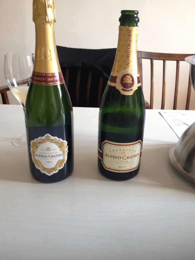 Alfred Gratien Champagne Tasting in Epernay