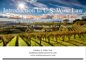 University Reims Wine Law Champagne Lindsey Zahn