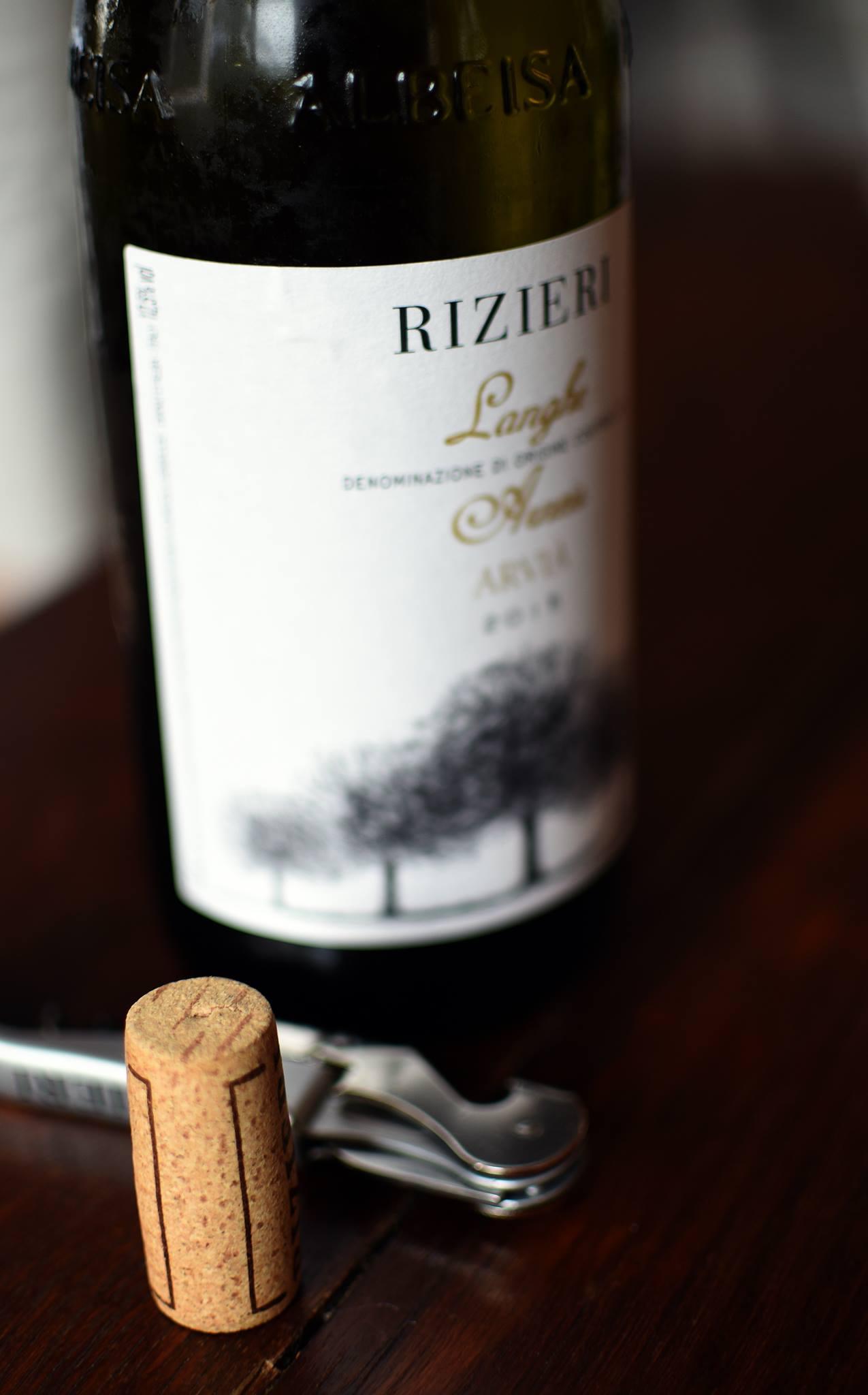 Rizieri Langhe Arneis wine Diano d'Alba winery Piemonte