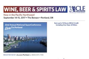 wine beer spirits law cle international portland oregon-benson