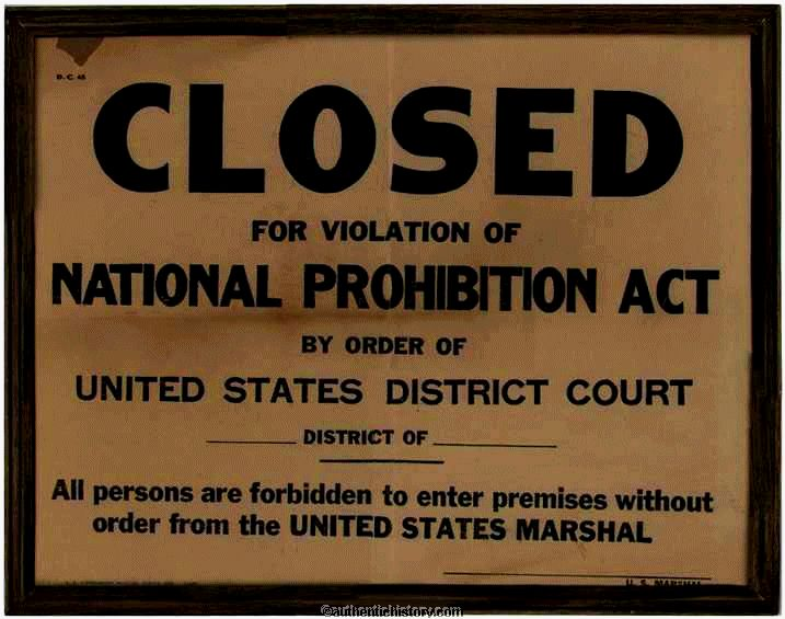an analysis of the prohibition of intoxicating liquor in america Prohibition and the smuggling of intoxicating liquors 35 in quebec and quebec did not have prohibition the creation of the liquor control board.
